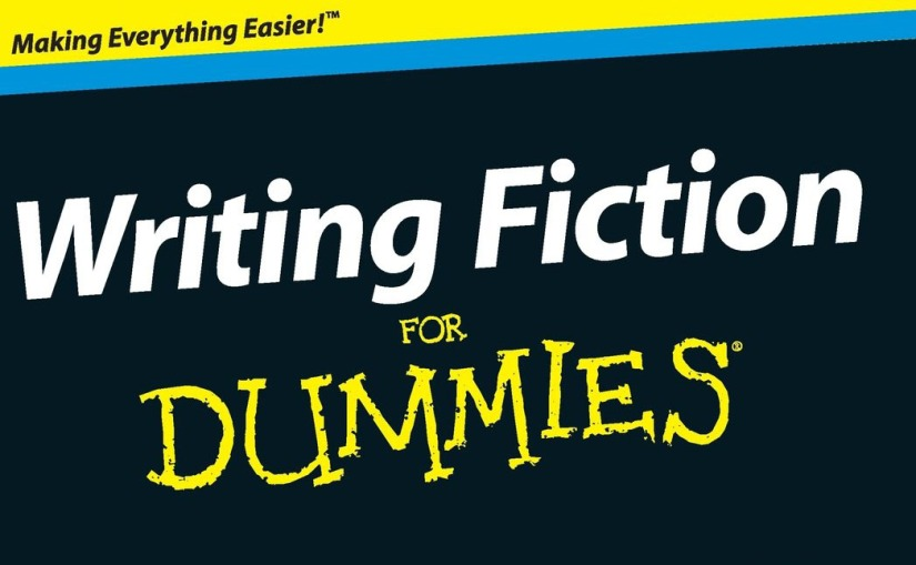 """Writing Fiction for Dummies"" av Randy Ingermanson"