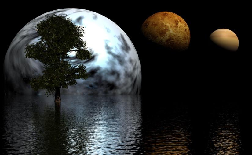 Är alla beboeliga planeter täckta avvatten?
